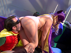 Lexi Belle is fucked silly dressed a..
