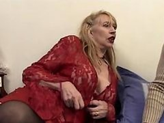 Sexy Mature Blonde Babe Gets Her..