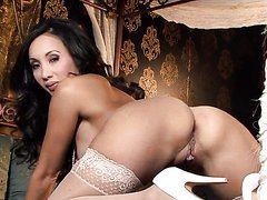 Asian Milf Katsuni Wears Sexy Lingerie..