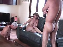 Old Man Steals Sexy Mature Wife From a..