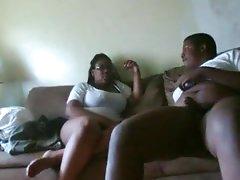 Close-up sex with hardcore black couple