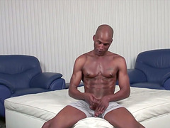 Sexy Black Dude Gets His Dick Pleased..