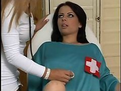 Nurse Fingers and Dildoes a Patient's..