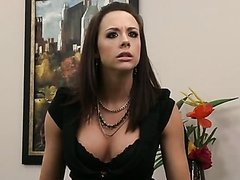 Busty Brunette Chanel Preston Gives a..