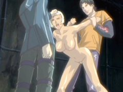 Hentai girls caught and brutally..