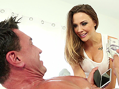 Beautiful Chanel Preston Rides Like A..
