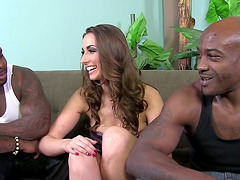 Magnificent Paige Turnah has threesome..