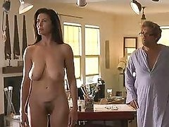 Super Sexy Mimi Rogers Shows Her Hairy..
