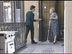Blonde Granny Gets Fucked and..
