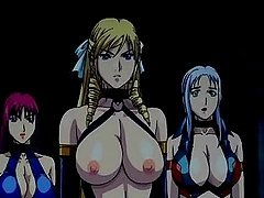 Anime lesbian schoolgirls shaved pussy..