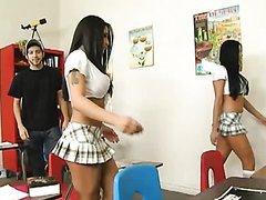 Mini Skirt Sluts Audrey Bitoni And..