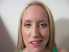 Hot Blonde Slut Jamie Rae Likes Both..