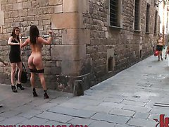 Hot Girl Forced To Do Public Nudity..