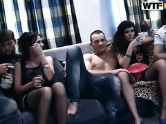 Totally insane drunk orgy movie