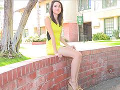 Rachel is a Gorgeous Skinny Teen..