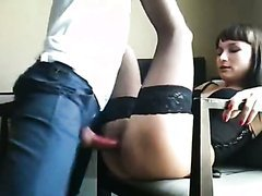 Hot Anal Sex Homemade Action With Slut..