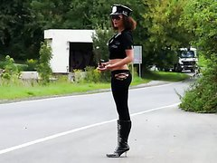 Naughty Police Woman Gives Amazing..