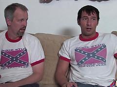Rednecks fuck Black girl and cum on..