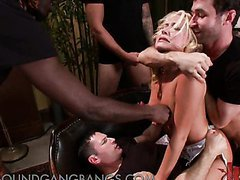 Blonde Bride Gets Abused and..