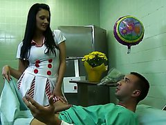 Insatiable Euro Nurse Aletta Ocean..