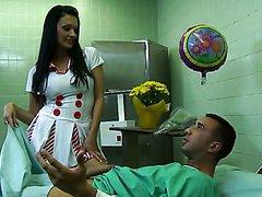 Insatiable Euro Nurse Aletta Ocean..