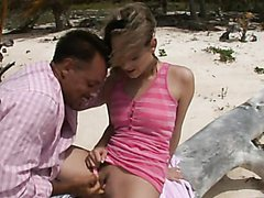 Nasty Blonde Swallows Cum And Gets Her..