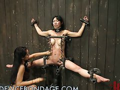 Asian Babe Adores Bondage