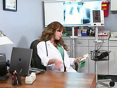 Hot Doctor Aleksa Nicole Giving a..
