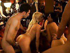 Absolutely Amazing Group Sex Orgy with..