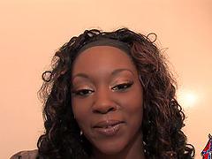 Sexy Black Girl Gets an Interracial..