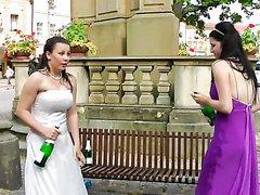 Bride Gets Drunk & Has A Bitch Fight..