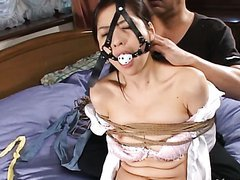 Yuko Kazuki Is A Tied Up Sex Slave..