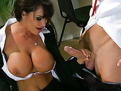 Really Horny and Busty Sluts Lisa Ann..