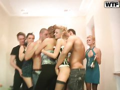 Real Rampant College Orgy Party