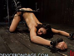 Brunette Loves Bondage
