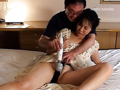 Mature Asian Wakes Up with a Vibrator..