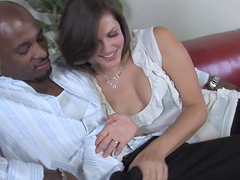 Stunning short-haired slut pounded by..