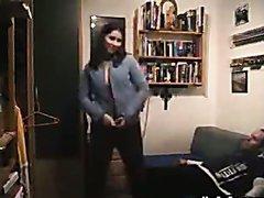 Horny Housewife Sucks On Her Hubby´s..