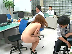 This new and horny office manager is..