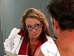 Horny Doctor Nikki Sexx Wants To Feel..