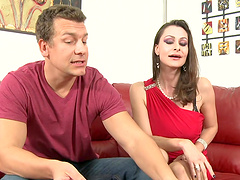 Rough sex with the horny milf Nora Noir