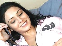 Erotic massage by slutty Aimee Black
