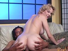 Tasty Dick James Bangs A Hot Blonde..