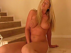 Yummy Alison Angel Masturbates Sitting..