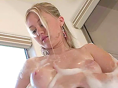 Stunning solo clip of Alison Angel..