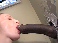 Yummy Kandi Hart Slurps A Big Black..