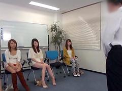 Amazing Japanese Lesbian Orgy!!!