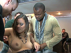 Delightful Alice Ax Gets Gangbanged..