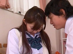 Rough sex witht he gorgeous Asian teen..