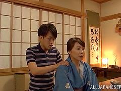 Japanese mom Yuuki Itano gets her..